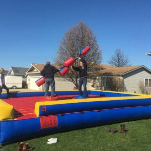 Bounce House Jousting Arena