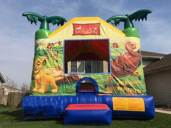Bounce House Lion King unit