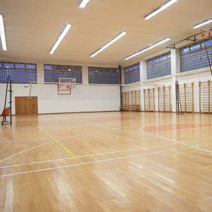 Picture of empty gymnasium