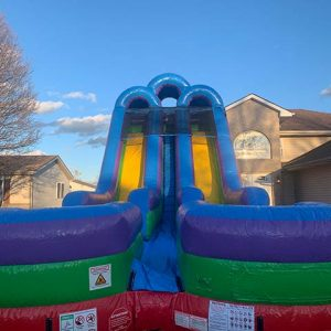 18 foot giant dual lane slide